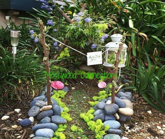 Leprechaun Trap in the garden