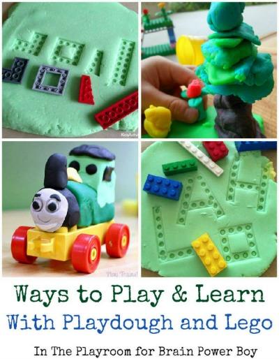Playdough-LEGO-Play