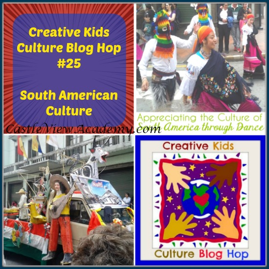 South American Dance is Featured on the Creative Culture Blog Hop on Castle View Academy