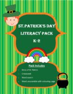 St. Patrick's Day Literacy Pack (Free)