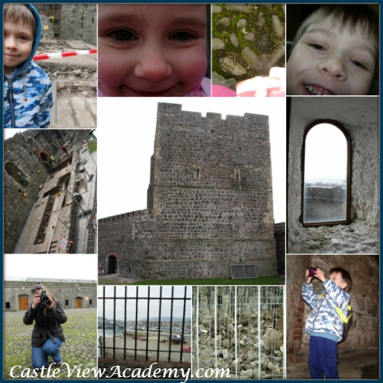 A kids' eye-view of Carrickfergus Castle