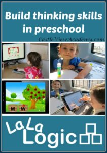 Build thinking skills with the preschool curriculum by La La Logic A review by Castle View Academy