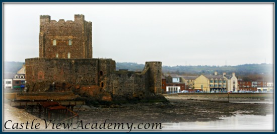 Carrickfergus Castle from the Marina