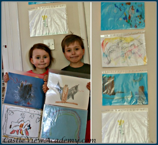 Creating artistic confidence with a personal art gallery and portfolio