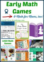 Early Math Games on Mom's Library