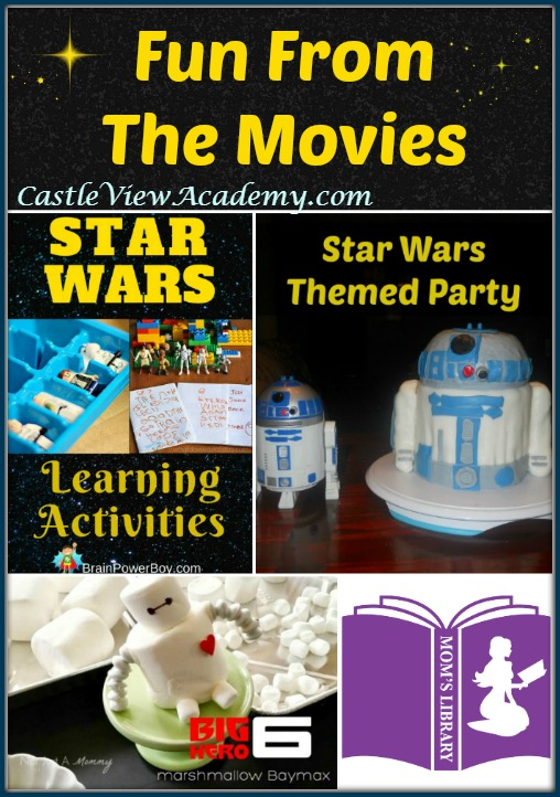 Fun From The Movies this week on Mom's Library with Castle View Academy