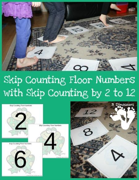 skip counting floor numbers
