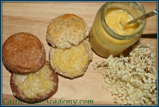 Elderflower Lemon Curd is perfect with scones