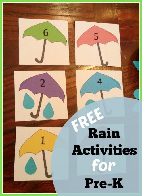 5 Preschool Rain Activities Castle View Academy
