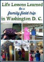 Washington D. C. Family Field Trip