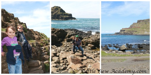 A Family Day out at The Giant's Causeway in Northern Ireland