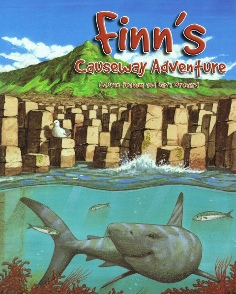 Finn's Causeway Adventure is a sweet story with beautiful illustrations of Northern Ireland