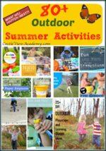 80+ Outdoor Summer Activities For Kids