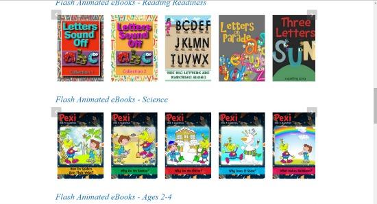 Mighty E-Book Collection screen shot