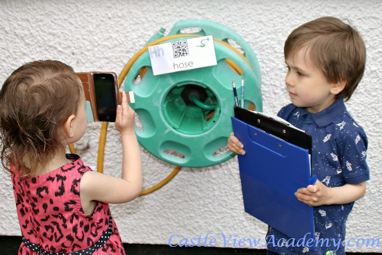 On the hunt for summer QR codes by the Wise Owl Factory