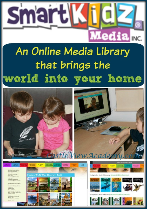 SmartKidz Media Library For Homeschoolers brings the world into your home. A review by Castle View Academy Homeschool