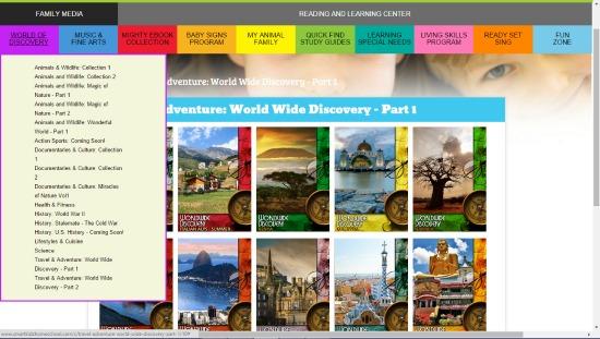 Smartkidz Media Library for Homeschoolers screenshot