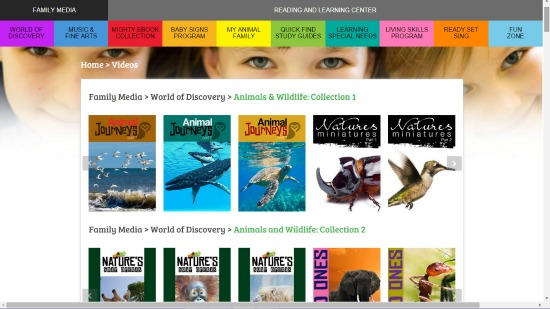 Smartkidz Media Library world of discovery
