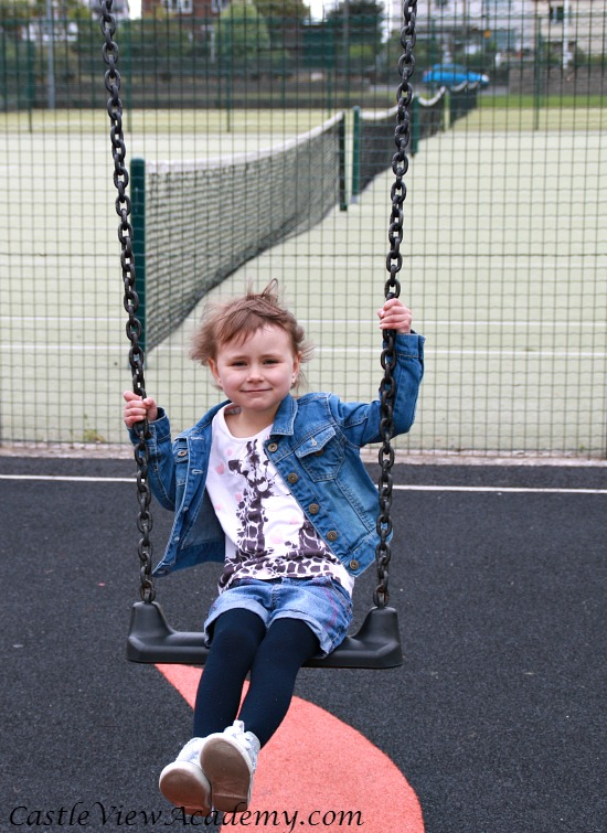 Swinging is lots of fun and good for health, too!