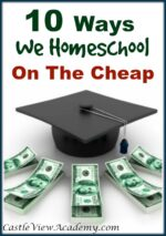 10 Ways We Homeschool On The Cheap