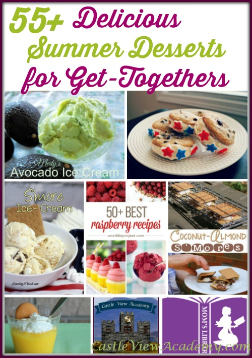 55+ Delicious Summer Desserts for get-togethers. From kids to more discerning tastes, you'll find something for everyone!