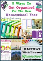 8 Ways To Get Organised For The New Homeschool Year