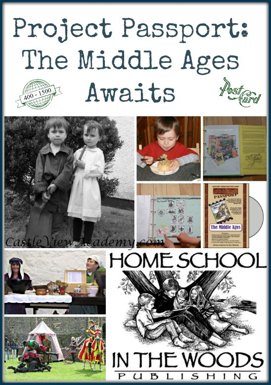 Home School In The Woods Project Passport World History The Middle Ages. A review by Castle View Academy Seeing children so excited about history is awesome!