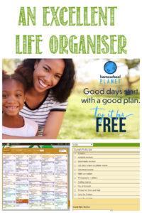 Homeschool Planet is an excellent Life Organiser at Castle View Academy homeschool