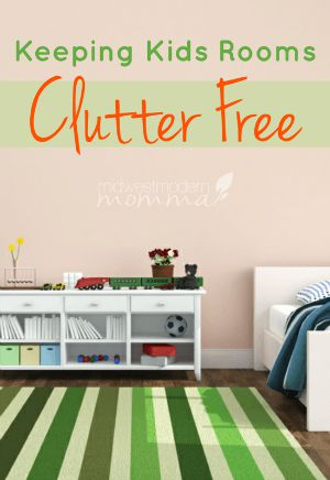 Keeping Kids Rooms Clutter Free