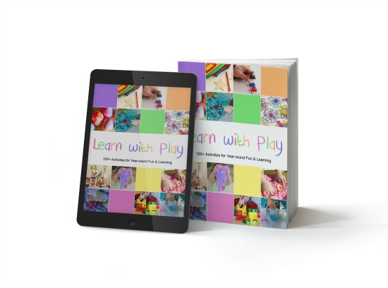 Learn With Play is available in Paperback, Kindle, and eBook formats