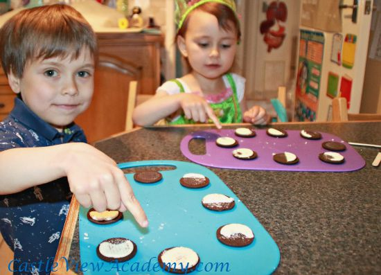 Learning about the phases of the moon with Oreo cookies is memorable
