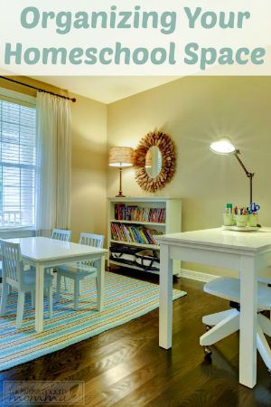 Organizing-your-Homeschool-Room