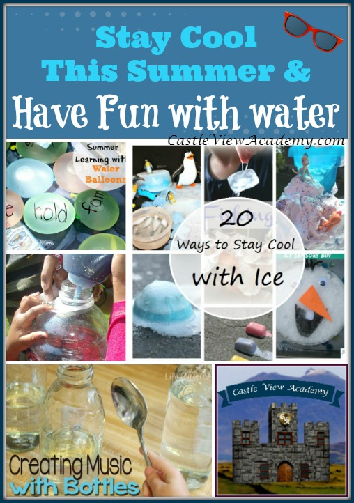 Stay cool this summer and have fun with water play!