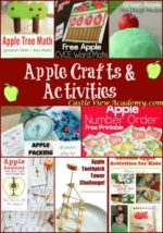Apple Crafts and Activities on Mom's Library