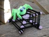 Craft-Stick-Spider-Web
