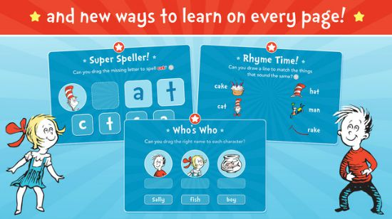 Dr. Seuss new ways to learn on every page