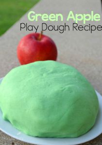 Green-Apple-Play-Dough