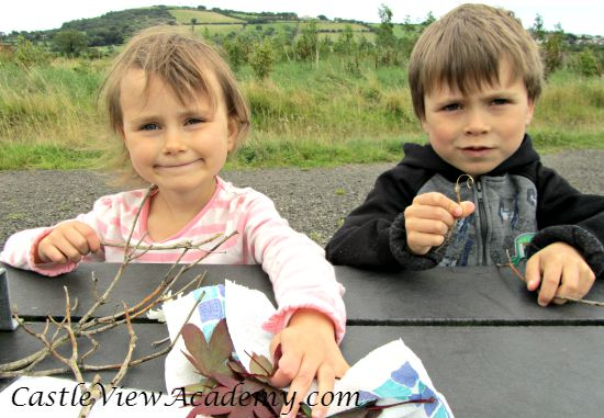 Making Leaf Fairies from the book Learn With Play 150+ Activities For Year-Round Fun & Learning