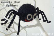 Needle-felt-spiders