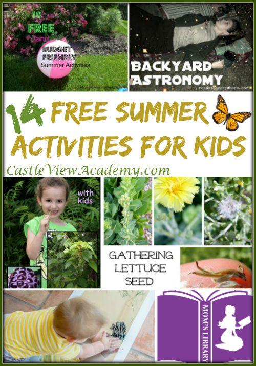 No need to break the bank! 14 Free Summer Activities For Kids