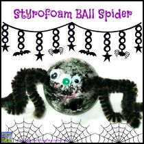 Styrofoam Ball Spider