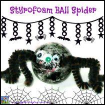 Styrofoam Ball Spider