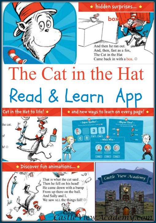 The Cat In The Hat Read And Learn App, A review by Castle View Academy