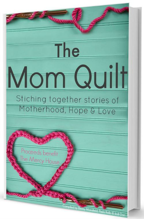 The Mom Quilt, Stitching together stories of motherhood, hope, and love. A fundraising project for Mercy House, Kenya