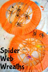 spider web wreaths