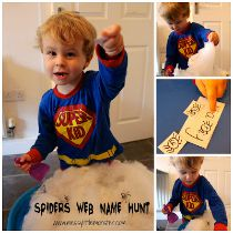 spiders web name hunt