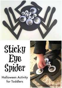 sticky eye spider