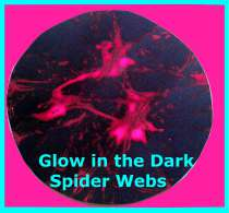 webs Glow in the Dark Spider Webs