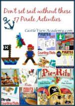 17 Pirate Activities