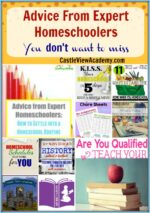 Advice From Expert Homeschoolers You Don't Want To Miss